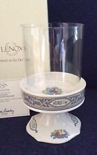 Lenox China Autumn PILLAR CANDLE HOLDER New In Box PERFECT Free Shipping