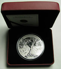 2013 Proof $50 5 oz .9999 silver Shannon Chesapeake War 1812 Canada fifty