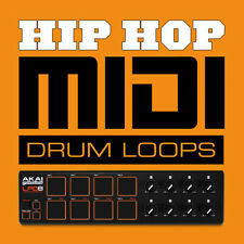 TAMBURO Midi Hop Hip Loops Beats-GENERAL MIDI FILES-LOGIC CUBASE studio ecc. FL
