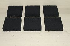 NEW 6 X CARBON FOAM FILTER PADS FISH TANK MEDIA FITS JUWEL COMPACT