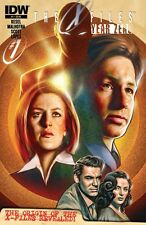 THE X-FILES: YEAR ZERO #1 VF/NM FIRST PRINTING IDW COVER A