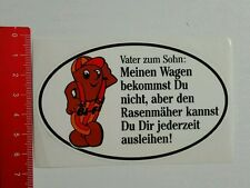 Aufkleber/Sticker: Bi - Fi - Vater zum Sohn (01071684)