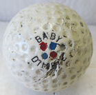 VINTAGE EARLY DIMPLE GOLF BALL CIRCA 1915 REPAINTED-THE SPALDING BABY DIMPLE
