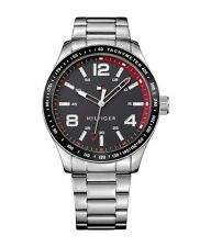 Tommy Hilfiger Original 1791178 Sport Men's Silver Stainless Steel Watch 44mm