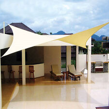 9.8'x13' Rectangle Sun Shade Sail UV Top Cover Outdoor Canopy Patio Lawn New