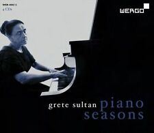NEW Piano Seasons by Grete Sultan CD (CD) Free P&H