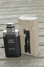 CARTIER DE SANTOS EDT EAU DE TOILETTE 3.3 OZ 100 ML ✺NEW IN BOX