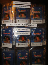 2005 NEW YORK METS PIN COLLECTION COMPLETE SET (25) IN DISPLAY FOLDER