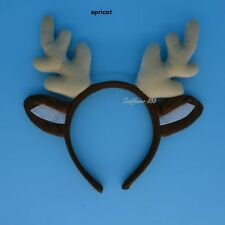 Animal Deer Reindeer Antlers Horn Headband Unicorn Fantasy Costume Party