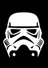 High Detail Star Wars Stormtrooper Aerografo Stencil-gratis UK Affrancatura