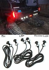 6pc Polaris Ranger LED Back-up Reverse Lights ATV RZR Sportsman 900 Turbo 1000