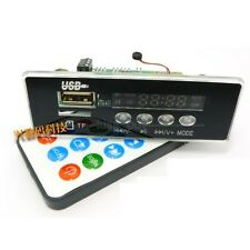 Digital Bluetooth receiver Call  MP3 WMA WAV decoder board FM Radio 5V 12V car