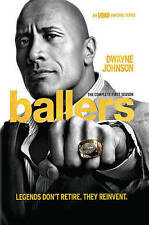 Ballers: The Complete First Season (DVD) Dwayne Johnson BRAND NEW