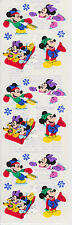 Sandylion CHRISTMAS Disney Mickey & Minnie Scrapbooking Stickers E12 FAST SHIP