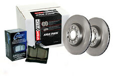Rear Brake Rotors + Pads for 2007-2008 Mercedes-Benz S550 [RWD;]