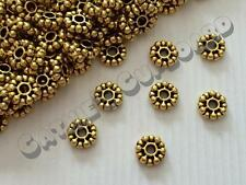 **SALE** 40 x Antique Gold Tone Double Daisy Alloy Spacer beads 8mm Jewellery