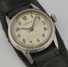 Vintage WWII Collectible LEMANIA WATCH Watch Caliber 27 Ref. 192 H
