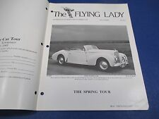 The Flying Lady Rolls-Royce Magazine July-August 1983, Graber Drophead Coupe