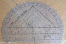 Ex MOD British Forces Semi Circular Protractor Orienteering Map Navigation