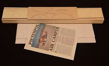 "Giant 1/4 Scale Pietenpol Air Camper Laser Cut Short Kit & Plans 85"" wing span"