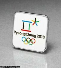 OLYMPIC PINS BID CITY CANDIDATE 2018 PYEONGCHANG SOUTH KOREA RECTANGULAR