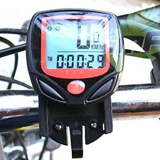 14 Functions Waterproof Digital LCD Bicycle Computer Odometer Speed meter Bike