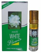 White Flower By Ahsan 8ml Lemon Jasmine Rose Muguet Ylang Musk Roll On Oil