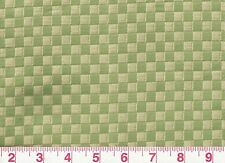Small Check Yellow Green Upholstery Fabric Fabricut Patrn Times Square CL Mint