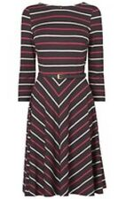 BNWT Phase Eight /8 Olivia Jersey Dress , Chocolate/camelia Coloure Size 16