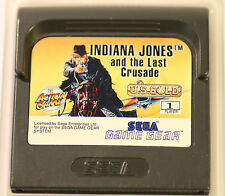 SEGA GAME GEAR  GAMEGEAR  INDIANA JONES AND THE LAST CRUSADE GAME (GAME ONLY)