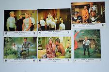 ESPIONS EN HELICOPTERE - 1968 - VAUGHN - MC CALLUM - JEU B 6 photoos