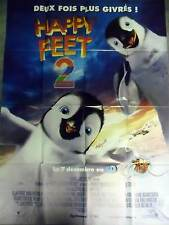 HAPPY FEET 2 - AFFICHE 120x160/47x63 FRENCH POSTER