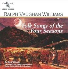 Ralph Vaughan Williams: Folk Songs of the Four Seasons New CD