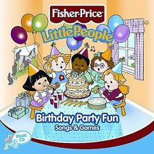 Little People: Birthday Party Fun Song & Games Fisher Price Audio CD