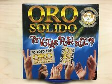 Tu Votas Por Mi by Oro Solido, El Presidente Del Merengue (CD 2000) PROMO ***