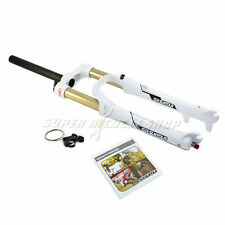 "New SR SUNTOUR Raidon XC-RL-R MTB 26"" Fork 120 mm 1 1/8"" Remote Lockout,White"