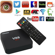 V88 4K Latest 16.1 RK3229 UHD Smart Android 5.1 TV Box 8G Quad Core Media Playe