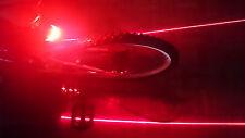 LED Laser Tail Light Fahrrad Rücklicht NEU/OVP Bicycle Rear Fahrradlicht NEW/OVP