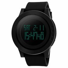CIVO Men's Digital Military Sports Watch Big Face Business Casual 5ATM Waterproo