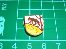 PIN BADGE DISTINTIVO SPILLA  DA GIACCA IN SMALTO DIPINTO L J K B ORSO LJKB