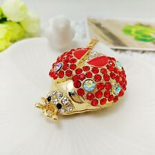 Fashion Jewelry Red Beatles Pendants Sweater chain long necklace XL692