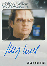 Star Trek Voyager Heroes & Villains Kelly Connell Autograph Card