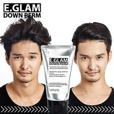 E.GLAM Down Perm NEW 2016 Ver./ Men Side Hair Mohican Style Self Speedy Easy Kit