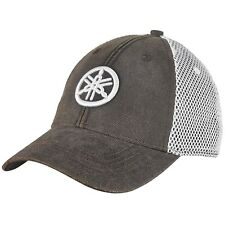 Yamaha Tuning Fork Mesh Hat in Gray - One Size - Brand New