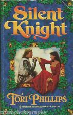 Silent Knight by Tori Phillips (1996, Paperback Book)