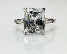 Radiant Cut Solitaire Engagement Wedding Ring 2.50 ctw. 14K White Gold #4549