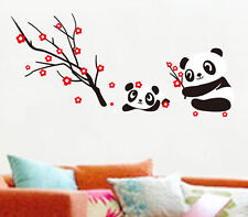 Likable Cheap Panda Tree Home Decor Living Room Removable Decals Wall Sticker