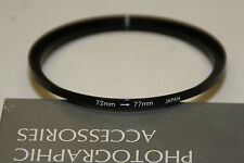 """Photographic Accessories Stepping Ring """" 72mm - 77mm """""""