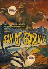 Son Of Godzilla Poster 01 Metal Sign A4 12x8 Aluminium
