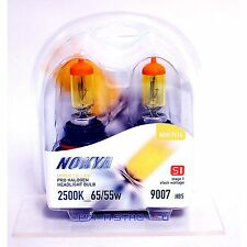Nokya 9007 Hyper Yellow S1 Low beam Headlight Halogen Light Bulb 1 Pair NOK7614